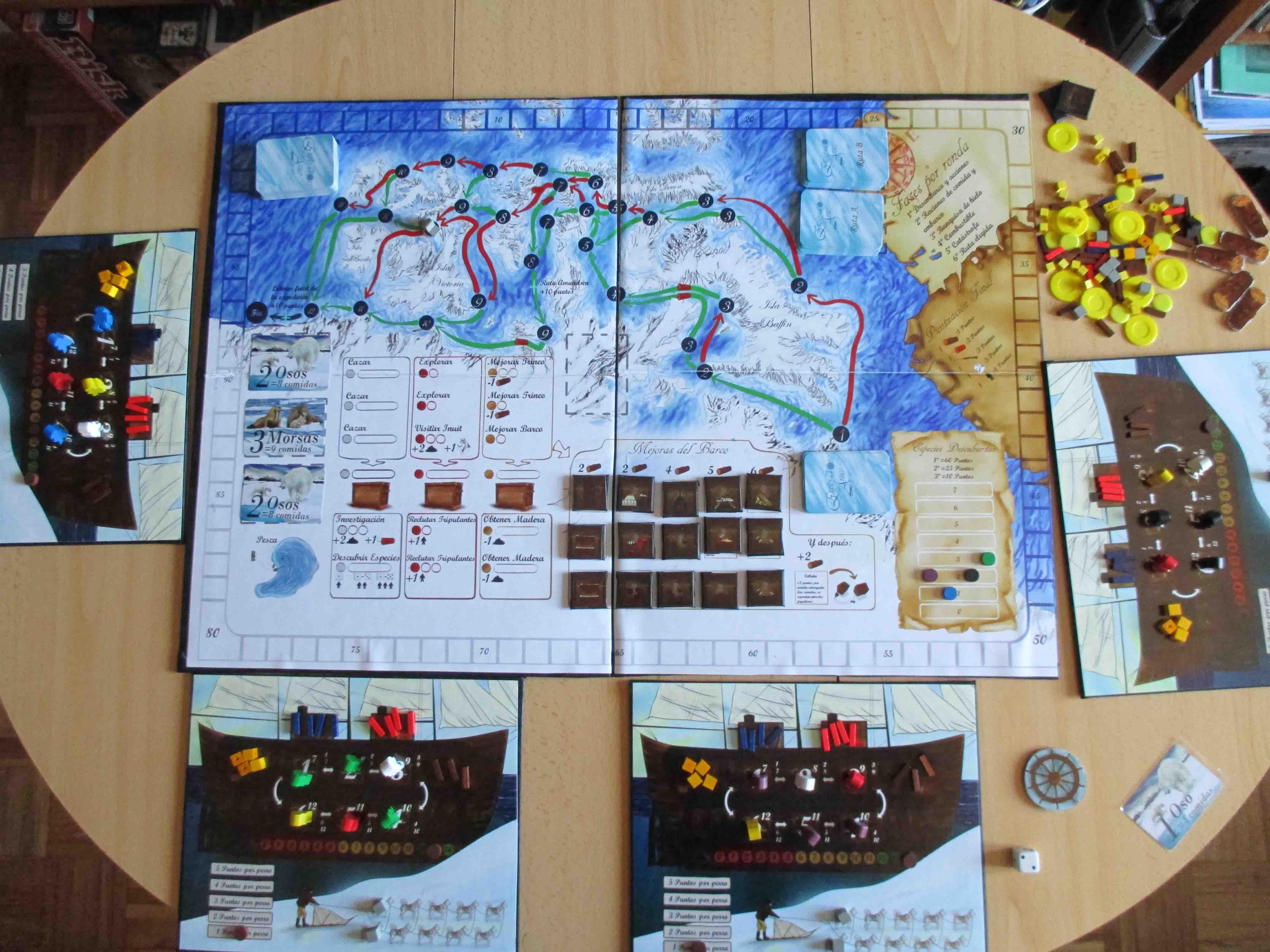 Exploradores del Ártico