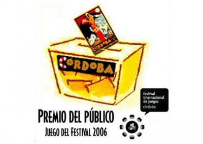 Premio del Público al Juego del Festival